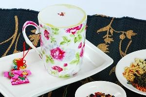 【哈客愛】玫瑰拿鐵擂茶