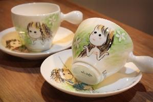 桐花精靈咖啡杯組(圖二) 其他圖片1