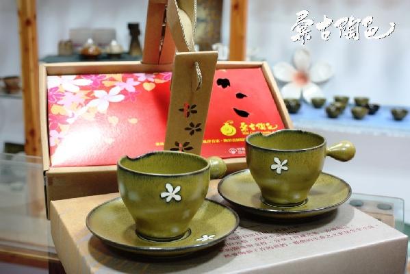 桐花咖啡杯組精美包裝送禮得體 其他圖片1