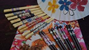 牡丹筷(鐵木)