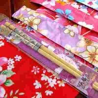 筷子 箸福愉筷(九香竹筷含油桐花筷套