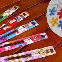 筷子 箸服愉筷(牡丹筷含筷套)