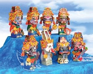 八家將紙偶具有強烈的台灣文化色彩 封面圖片