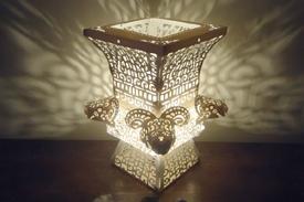 紙雕DIY桌燈-四羊方尊