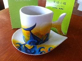 黑鮪魚咖啡杯組