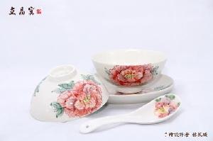 花開富貴 (餐具tableware)