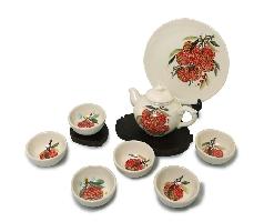 荔多長紅 (中壺茶具組)
