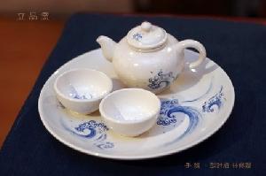 青花花浪 ( 茶具組 )