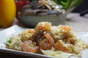 新鮮草蝦搭配台梗16號米飯,加上廚師好手藝,絕對滿足每一張祧剔的嘴。 其他圖片1