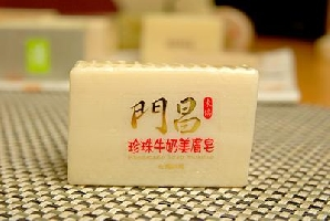 珍珠牛奶美膚皂