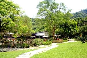 三富休閒農場-紫屋森林咖啡庭園景觀