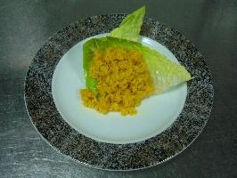 奶油薑黃燉飯