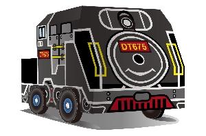 新北市博物館文化列車_DT-675蒸氣機車頭公仔車