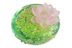 琉璃精品-大地系列 清韻雅荷