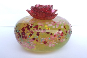 琉璃精品-大地系列 花開富貴