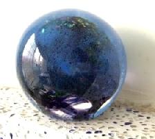 琉璃精品-星球系列 銀箔星球