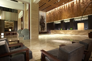 蘭城晶英酒店6樓挑高大廳