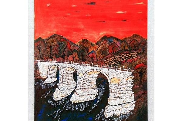糯米橋漆版畫2 其他圖片1