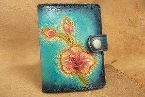 台南特色護套卡夾(蘭花)