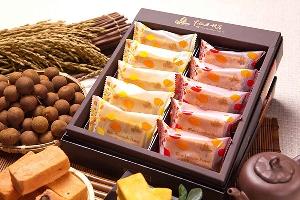 繽紛舞會禮盒:紅酒桂圓酥+米鳳梨酥