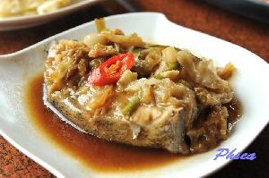 古味酸菜佐鮮魚