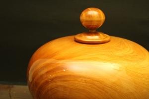 台灣檜木聚寶盆