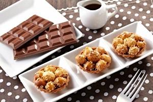 巧克力夏威夷豆塔(10入)