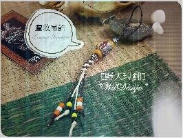 豐收琉珠吊飾