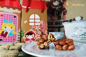 台灣古早花生脆糖《黃金森巴》