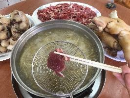 薑絲涮羊肉